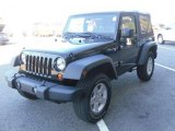 2010 Black Jeep Wrangler Sport 4x4 #27851011