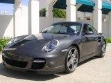 2007 Slate Grey Metallic Porsche 911 Turbo Coupe #27850372