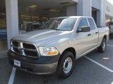 2010 Light Graystone Pearl Dodge Ram 1500 ST Quad Cab #27851015