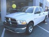 2010 Stone White Dodge Ram 1500 ST Crew Cab #27851019