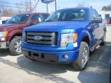 2010 Blue Flame Metallic Ford F150 STX SuperCab 4x4 #27851031