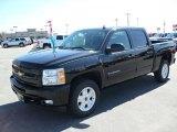 2010 Black Chevrolet Silverado 1500 LT Crew Cab #27851039
