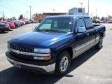 2002 Indigo Blue Metallic Chevrolet Silverado 1500 LS Extended Cab #27851047