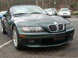2001 BMW Z3 Oxford Green Metallic