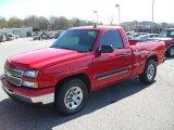 2006 Victory Red Chevrolet Silverado 1500 LT Regular Cab #27851263