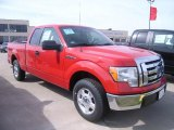 2010 Vermillion Red Ford F150 XLT SuperCab #27920380