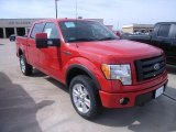2010 Vermillion Red Ford F150 FX4 SuperCrew 4x4 #27920381