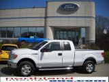 2010 Oxford White Ford F150 XLT SuperCab 4x4 #27919663