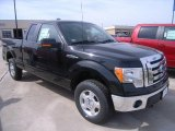 2010 Tuxedo Black Ford F150 XLT SuperCab 4x4 #27920385