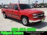 2007 Victory Red Chevrolet Silverado 1500 Classic LS Crew Cab #27919956