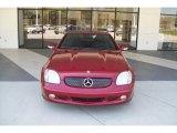 2002 Mercedes-Benz SLK Firemist Red Metallic
