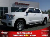 2007 Super White Toyota Tundra Limited CrewMax #27919839