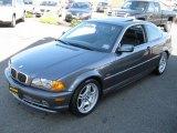 2001 Steel Grey Metallic BMW 3 Series 330i Coupe #27920432