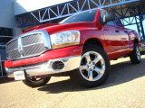 2006 Flame Red Dodge Ram 1500 SLT Quad Cab #27919714