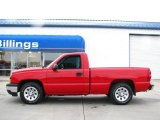 2007 Victory Red Chevrolet Silverado 1500 Classic Work Truck Regular Cab #27920234