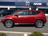 2007 Sunset Red Pearl Metallic Nissan Murano SL AWD #27920262