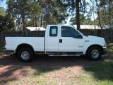 2003 Oxford White Ford F250 Super Duty XLT SuperCab #27920122