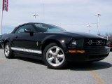 2007 Black Ford Mustang V6 Premium Convertible #27919629