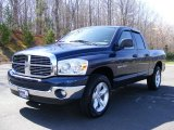 2007 Patriot Blue Pearl Dodge Ram 1500 SLT Quad Cab #27920272