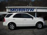 2009 Clear White Kia Sorento LX 4x4 #27919784