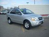 2009 Bright Silver Kia Sorento LX 4x4 #27920276