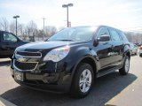 2010 Black Chevrolet Equinox LS #27920279