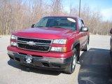 2006 Sport Red Metallic Chevrolet Silverado 1500 Z71 Crew Cab 4x4 #27920282