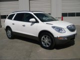 2010 Buick Enclave White Opal