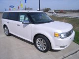 2010 White Platinum Tri-Coat Metallic Ford Flex Limited #27920376