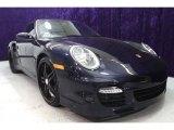 2008 Midnight Blue Metallic Porsche 911 Turbo Coupe #27993357