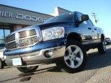 2008 Patriot Blue Pearl Dodge Ram 1500 SLT Quad Cab 4x4 #27993077