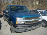 2003 Arrival Blue Metallic Chevrolet Silverado 1500 LS Extended Cab 4x4 #27993234