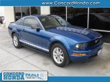 2007 Vista Blue Metallic Ford Mustang V6 Premium Coupe #27992962