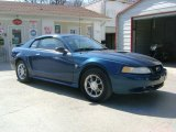 1999 Atlantic Blue Metallic Ford Mustang V6 Coupe #27993267
