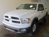 2010 Stone White Dodge Ram 1500 TRX4 Crew Cab 4x4 #27993092