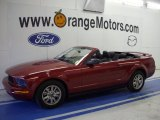 2006 Redfire Metallic Ford Mustang V6 Premium Convertible #27993273