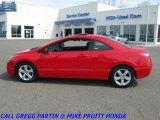 2007 Rallye Red Honda Civic EX Coupe #27992985