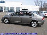 2007 Galaxy Gray Metallic Honda Civic LX Sedan #27992986