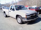 2006 Silver Birch Metallic Chevrolet Silverado 1500 LS Regular Cab #27992988
