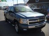 2009 Blue Granite Metallic Chevrolet Silverado 1500 LT Z71 Crew Cab 4x4 #27993294