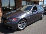 2008 Sparkling Graphite Metallic BMW 3 Series 328xi Wagon #27993130