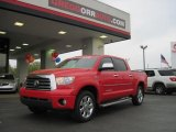 2008 Radiant Red Toyota Tundra Limited CrewMax 4x4 #27993466