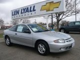 2003 Ultra Silver Metallic Chevrolet Cavalier Coupe #27993159