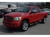 2006 Flame Red Dodge Ram 1500 Sport Quad Cab 4x4 #27993654
