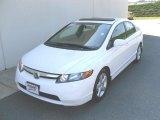 2007 Taffeta White Honda Civic EX Sedan #27993671