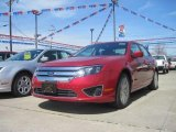 2010 Sangria Red Metallic Ford Fusion SEL V6 #27993685