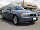 2002 Steel Blue Metallic BMW 3 Series 325i Sedan #27993712