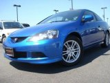2006 Vivid Blue Pearl Acura RSX Sports Coupe #28059513