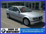 2004 Titanium Silver Metallic BMW 3 Series 325i Sedan #28059584