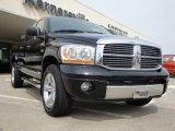 2006 Brilliant Black Crystal Pearl Dodge Ram 1500 Laramie Quad Cab 4x4 #28064732